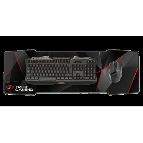 Игровой коврик Trust GXT 209 XXXL для клавиатуры и мыши (20819)