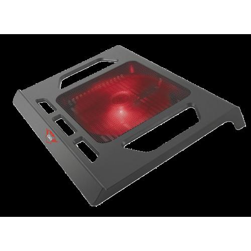 Игровая охлаждающая подставка 20159 Trust GXT 220 регулировка скорости