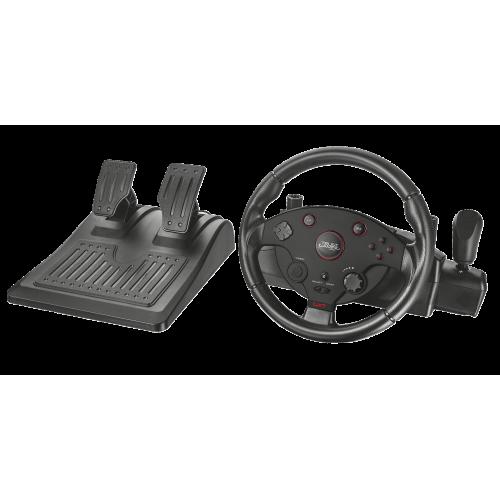 Игровой руль 20293 Trust GXT288 вибрация педали крепление на стол