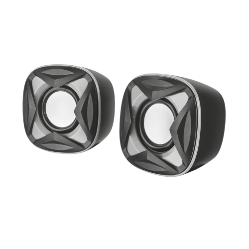 Акустическая система 2.0 21180 Trust XILO 8Вт 3,5mini-jack серебро