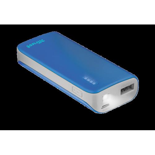 Внешний аккумулятор 21225 Trust PRIMO 4400mAh голубой