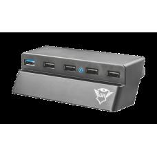 USB-разветвитель 22272 TRUST GXT 219 PS4 SLIM